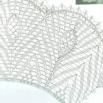 מפה גדולה סרוגה